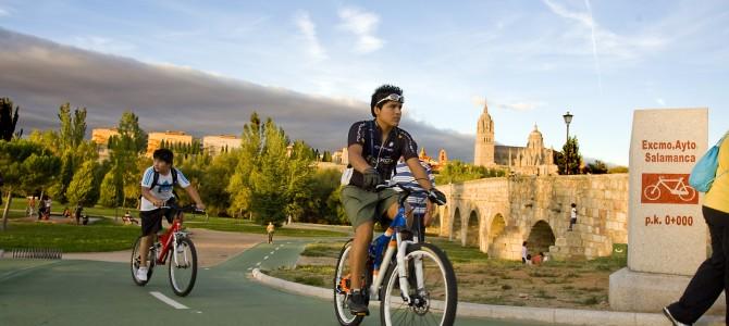 Salamanca a dos ruedas